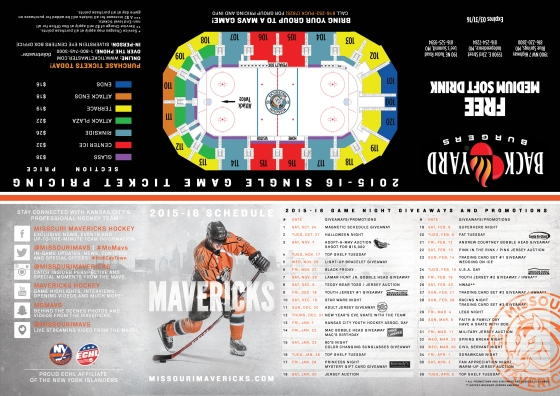 2015-16 Pocket Schedule - 1
