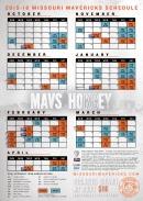 2015-16 Pocket Schedule - 2